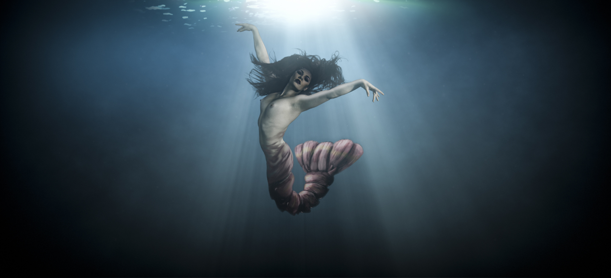 Floating Through An Underwater Shoot