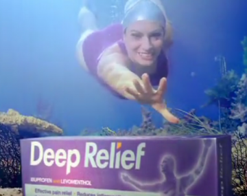 Deep Relief - Advertising