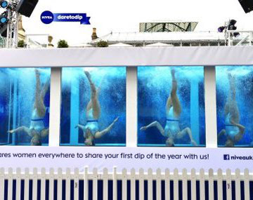 Nivea - Dare to Dip campaign