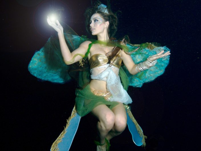 Aquabatix underwater model magical fairy