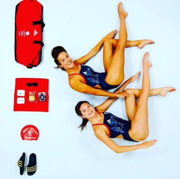 Aquabatix athletes represent Team GB synchronised swimming at Rio 2016