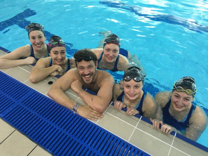 Will Young synchronised swimming BBC1 Sport Relief 2016