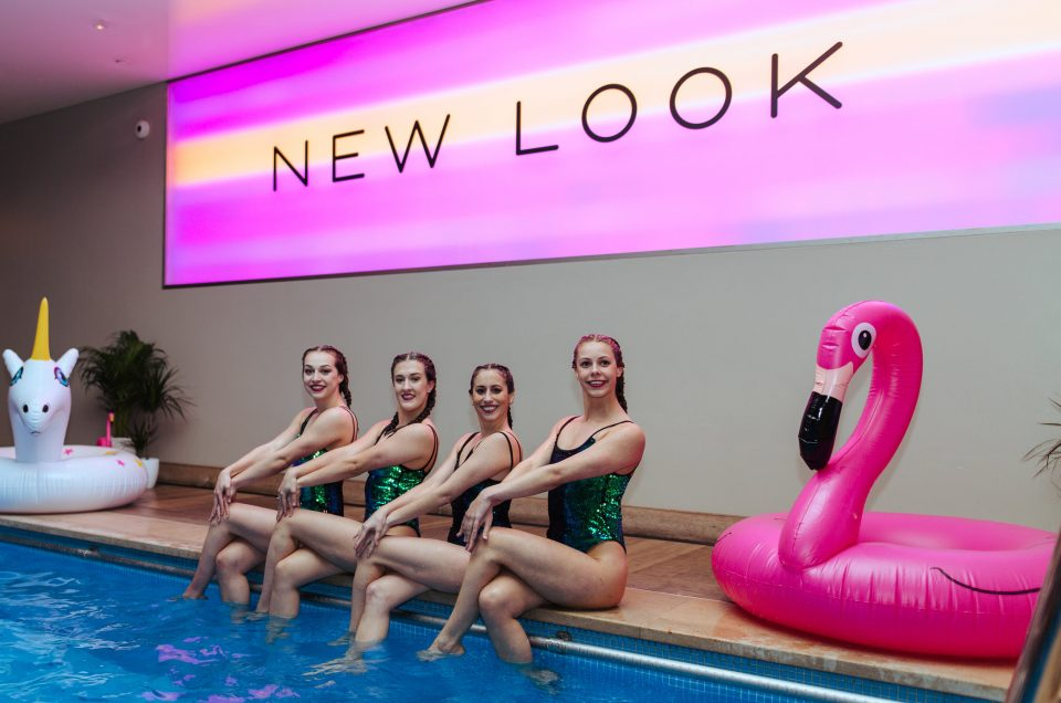 Pool to party with New Look