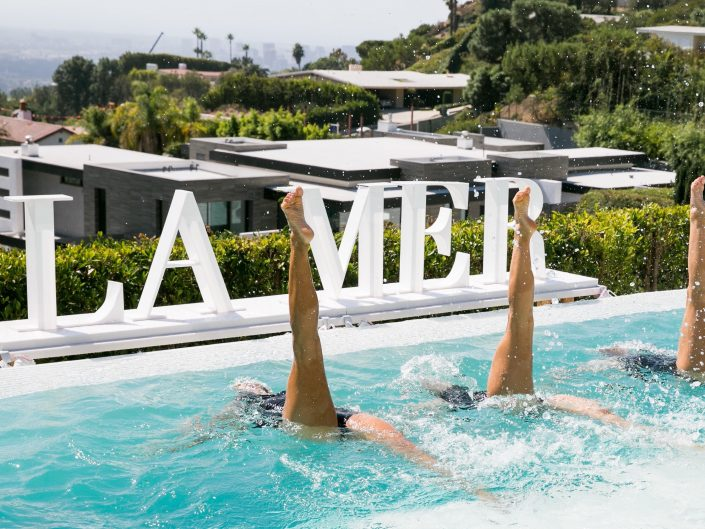 Aquabatix USA perform for LA Mer in LA