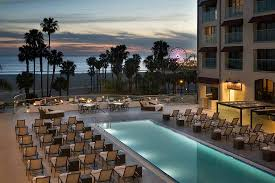 Loews pool Santa Monica