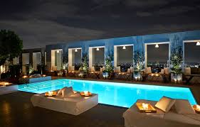 Mondrian Skybar pool West Hollywood