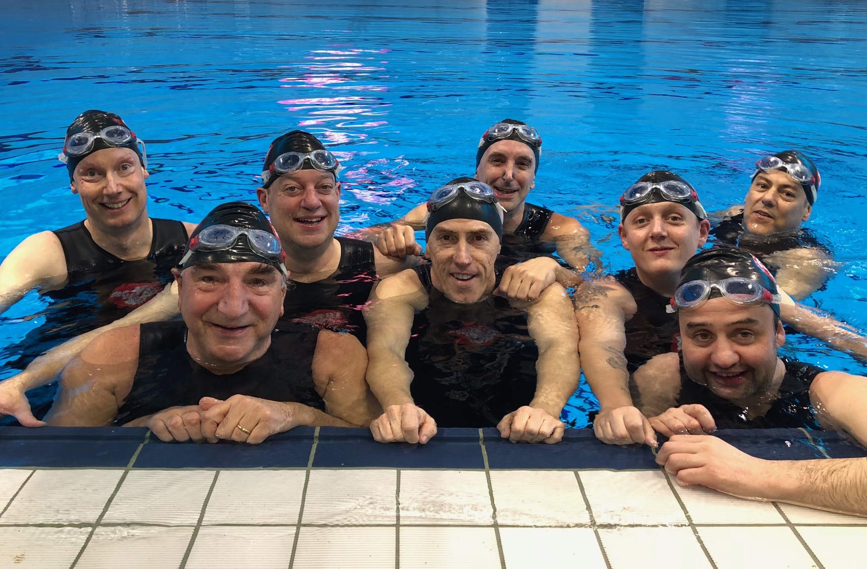 Swimming With Men Sport Relief 2018