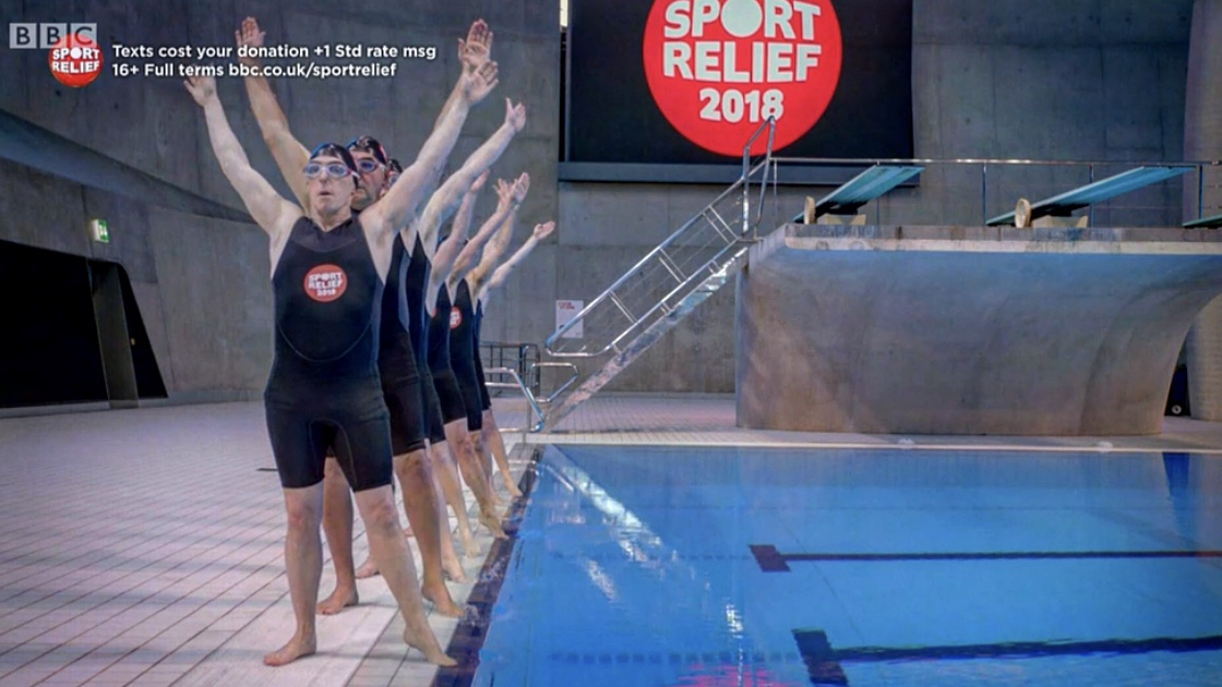 Swimming With Men Sport Relief