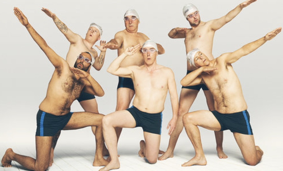 Swimming With Men synchronised swimming teaser