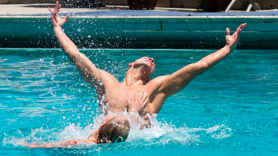 American synchronised swimmer Bill May