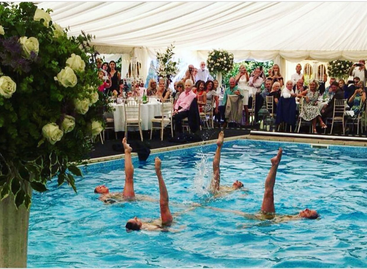 Aquabatix performing at Help for Heroes charity event