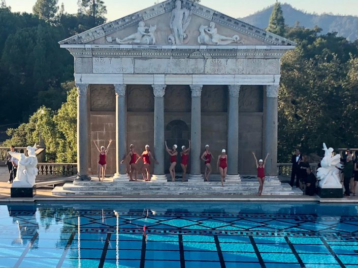 Hearst Castle – re opening performance