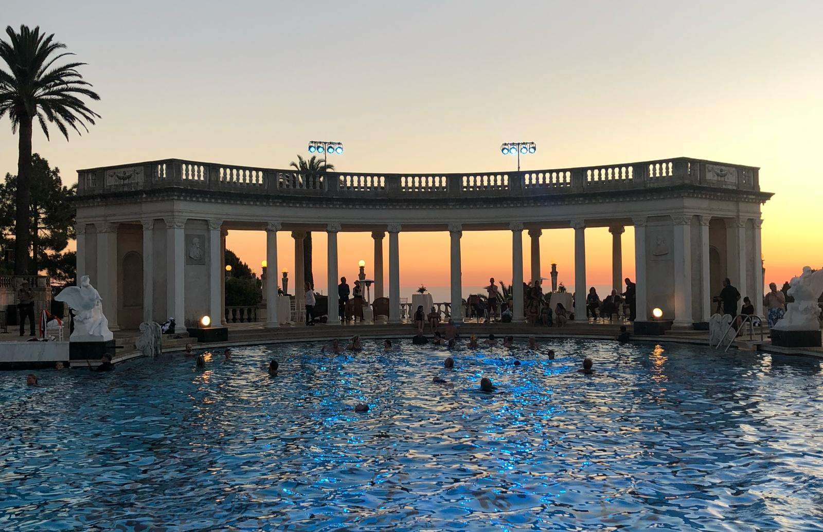 Hearst Castle reopening Neptune pool