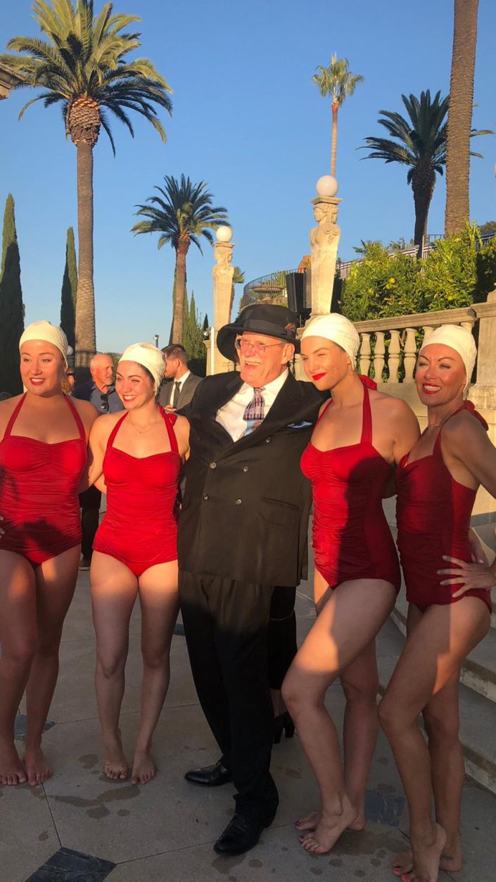 Aquabatix USA - Hearst Castle relaunch performance 4