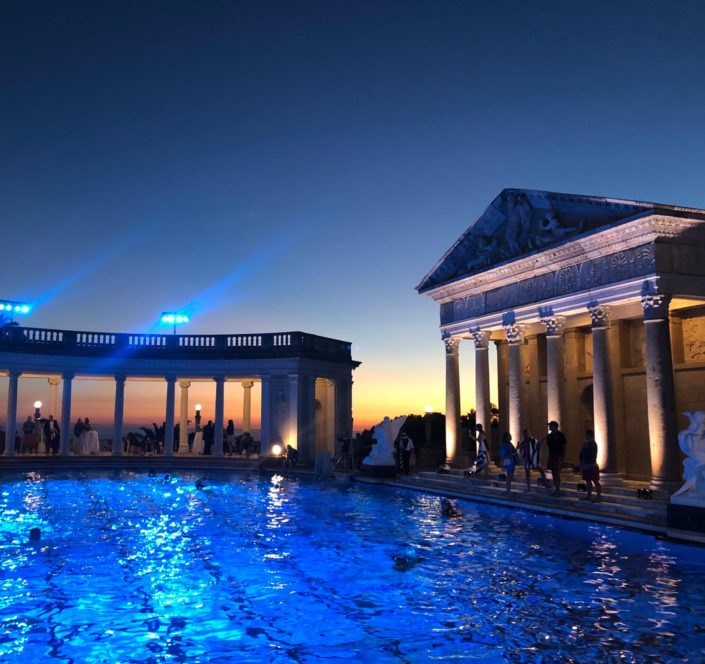 Aquabatix USA - Hearst Castle relaunch performance 2