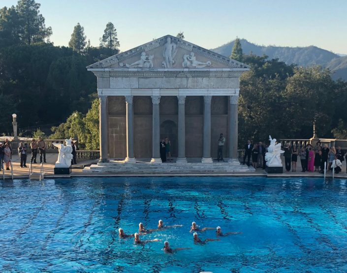 Aquabatix USA - Hearst Castle relaunch performance 1