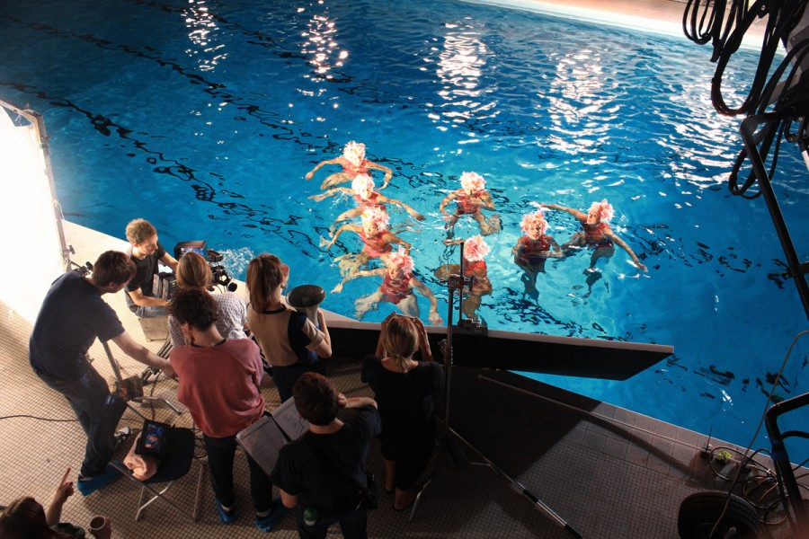 UAE synchronized swimmers Aquabatix