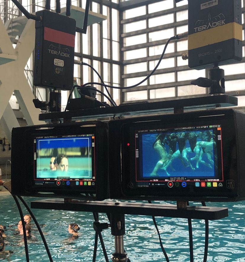 Filming Trigonometry at Crystal Palace Sports Centre