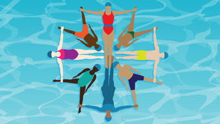 Artistic swimming courses