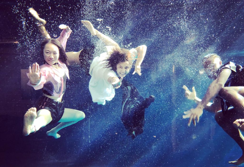 Aquabatix underwater professionals for Absolut vodka It's in our spirit campaign