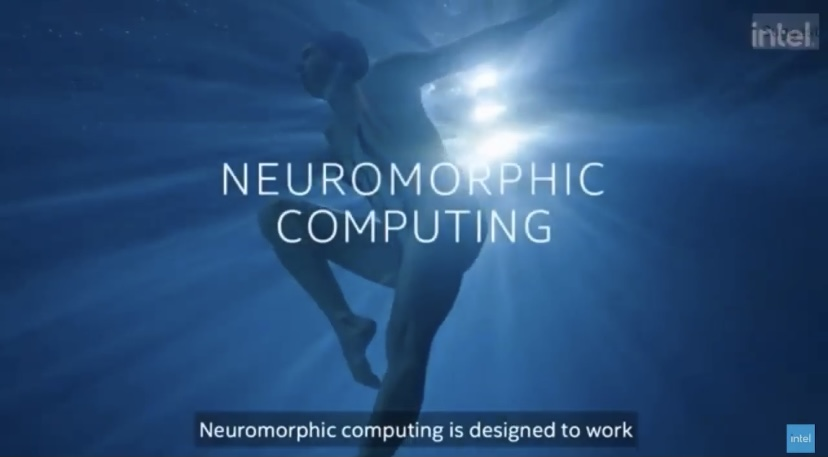 intel work with Aquabatix synchronized swimming team Behind the Brains campaign