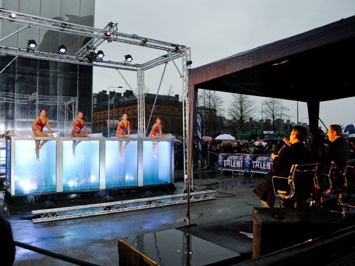 Britain's got talent - aquabatique audition