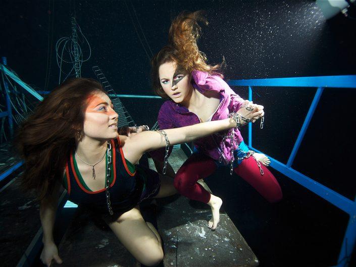 Underwater artists