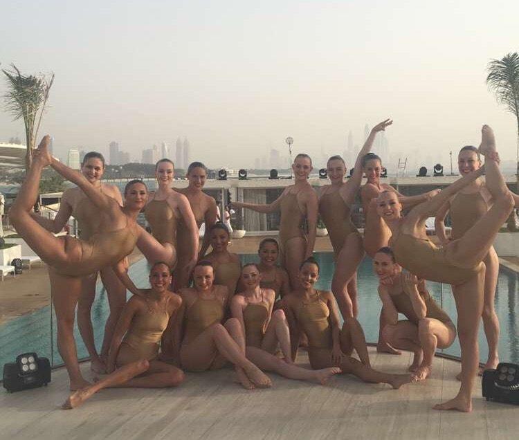Synchronized Swimming UAE
