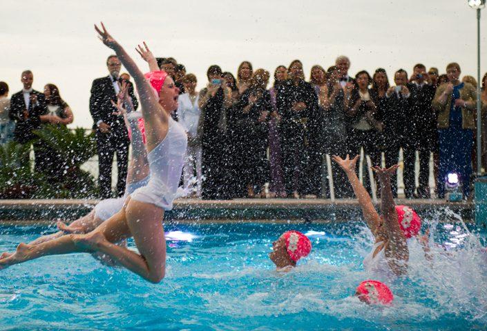 Venice Synchronised swimmers Aquabatix