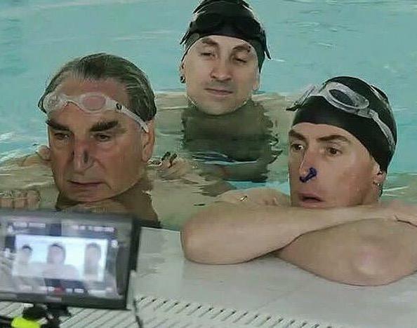 Swimming with Men Rob Brydon, Jim Carter, Chris Jepson