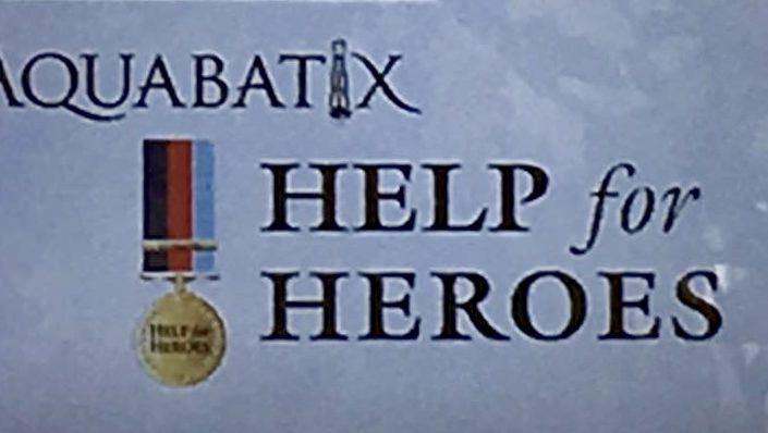 Help For heroes and Aquabatix